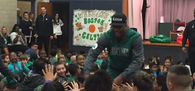 ReadBoston launches Boston Celtics Read to Achieve program partnership!