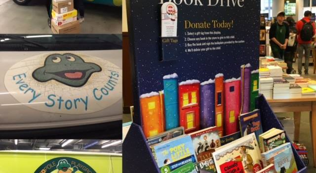 Barnes & Noble Holiday Book Drive
