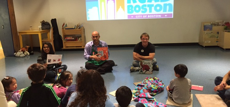ReadBoston Announces Winner of 2016 Best Read Aloud Book Award