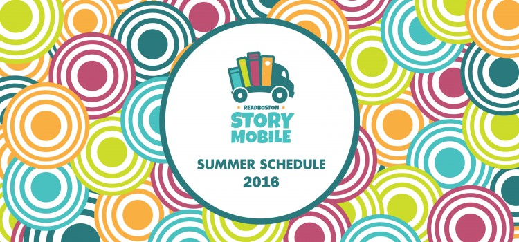 2016 Storymobile Schedule